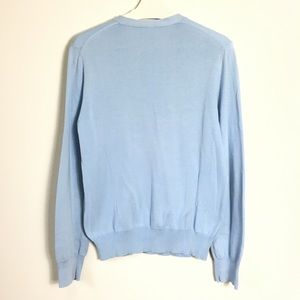 GAP Shirts & Tops - GAP Light Blue Sweater V-neck Comfort Breezy 6